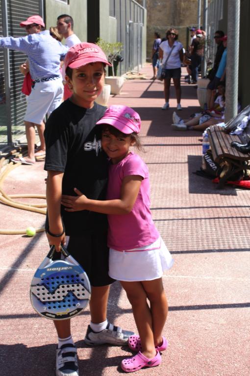 AdriPatripadel Éxito en el Clinic de menores del Club de Tenis de Almería