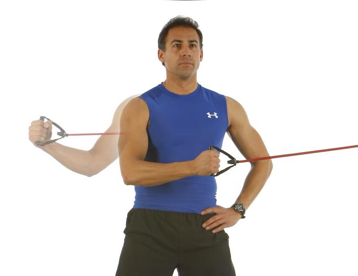 Manguito de los rotadores externos ejercicios