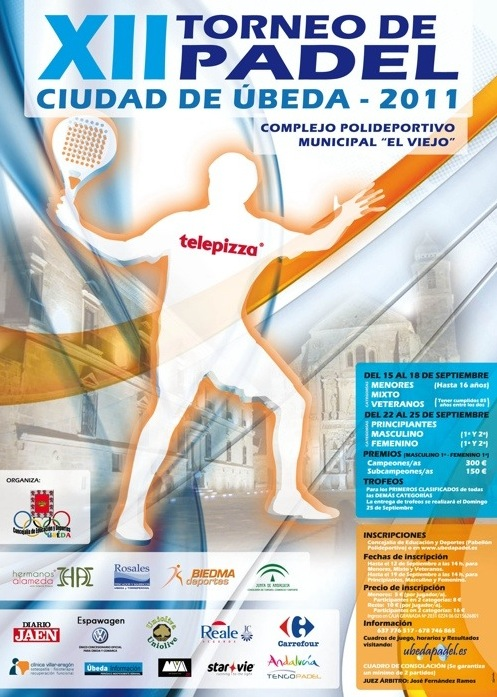 XII Torneo Padel Ciudad de Ubeda padelgood XII Torneo de Pádel Ciudad de Úbeda
