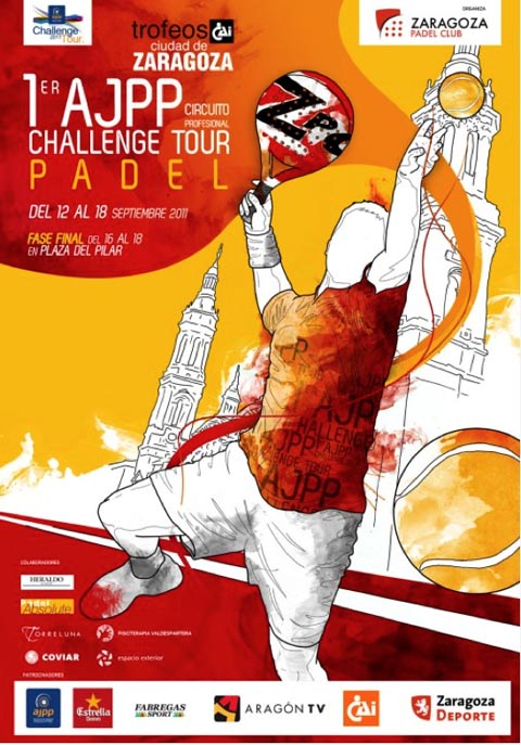 ajpp zaragoza padelgood Primer Torneo AJPP Ciudad de Zaragoza. AJPP Challenge Tour 2011.