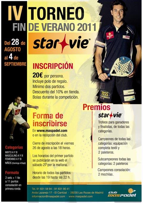 torneo star vie padelgood IV Torneo fin de verano Star Vie.
