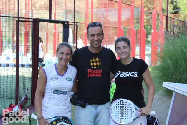Vale Ale entrevista ResHigueron Padelgood 2011 2 PadelGood entrevista a Valeria Pavón y Alejandra Salazar!!!!!!