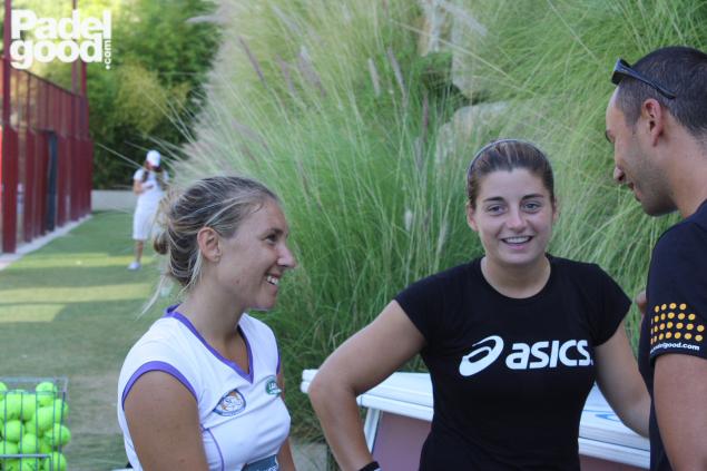 Vale Ale entrevista ResHigueron Padelgood 2011 6 PadelGood entrevista a Valeria Pavón y Alejandra Salazar!!!!!!