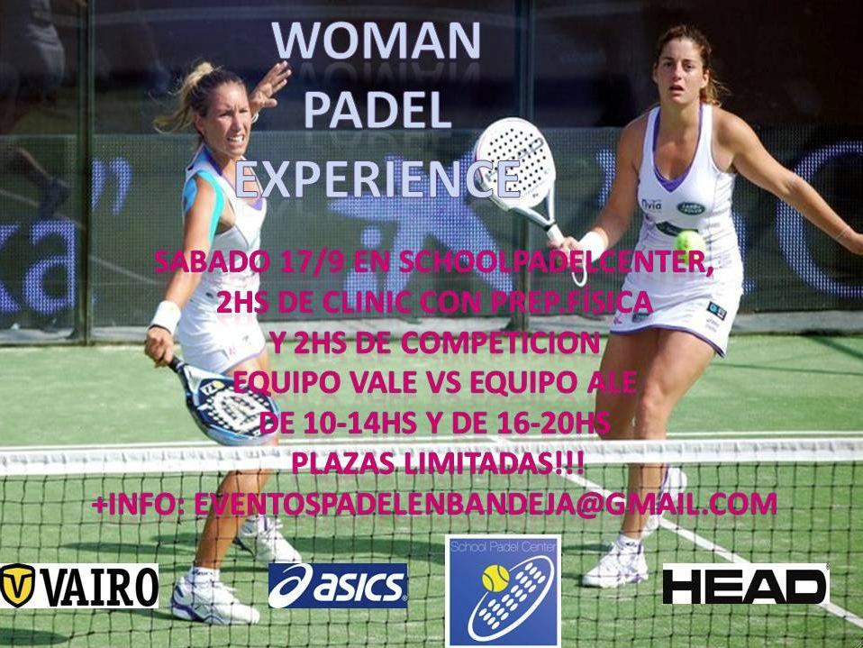 Valeria Alejandra WomanPadelExperience padelgood Competir contra Alejandra o Valeria????