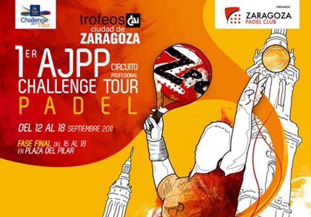 zaragozaajpp padelgood Allemandi y Tamame vencen el AJPP Ciudad de Zaragoza. Avance.