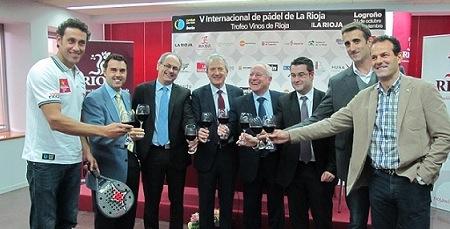 5 PPT presentacion Rioja2 Padelgood Presentado V Internacional de padel de la Rioja.