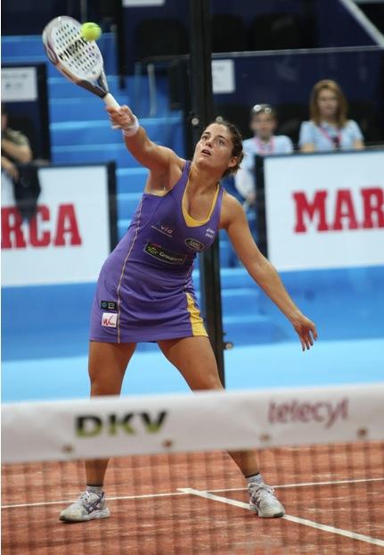 Alejandra Salazar PPTMadrid 2011 Padelgood La novena final consecutiva de Navarro-Reiter VS Montes-Llaguno PPTMadrid.