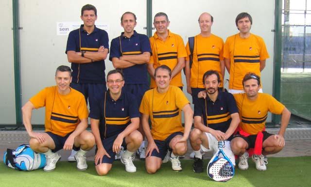 Veteranos tenis padelgood Campeonato Navarro por equipos de veteranos de clubes 2011