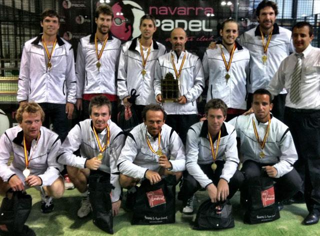 campeones navarra padelgood Campeones del Campeonato de España por Autonomías.