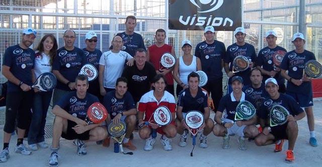vision formacion padelgood Vision organiza una jornada de formación con Sanyo Gutiérrez.