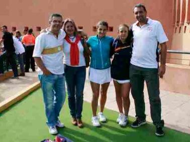 Mundial Menores Marta Porras Teleprensa Jaen padelgood Una estudiante de la UJA, campeona mundial sub 18 de pádel