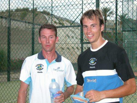 padelcup2007 campeones Especial Xavi Colomina, bueno en el padel y con Waita TV maestro del vídeo
