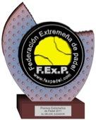Fexpadel premios 2011 padelgood Se dan a conocer los #premios Extremeños de #padel 2011