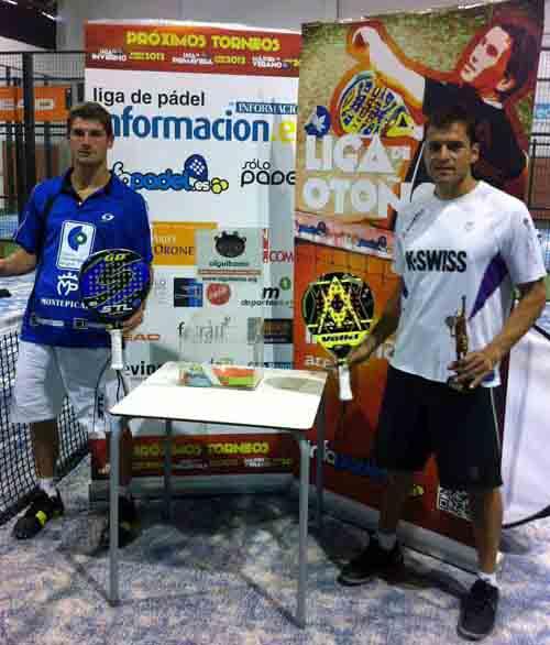 pitu toto padelgood Pitu Losada y Totó Calneggia campeones en Alicante.