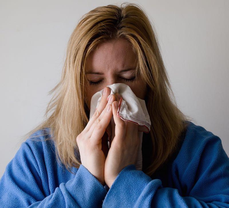 Aliviar los efectos del resfriado para hacer deporte