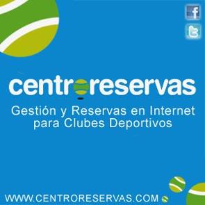 banner centroreservas padelgood @centroreservas imparable llega al mundo Fitness!! Felicidades.