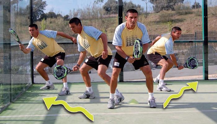 posicion de defensa padel Mejorar la posición en Pista mejorará tu pádel