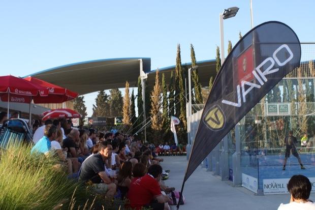 Ambiente Final VAIRO 4 El Vian Automobile cierra la 3ª etapa Circuito #padel Zaragoza 2012