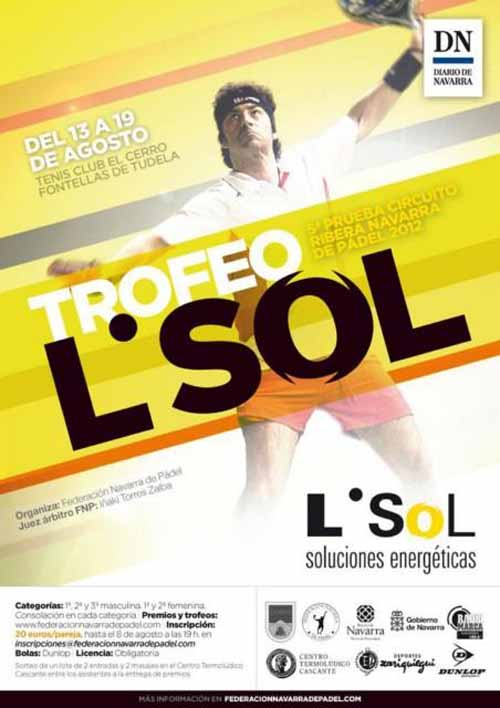 Cartellsol Trofeo L'SOL. 5ª Prueba Circuito Ribera Navarra 2012.
