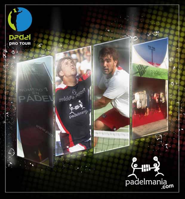 Padelmanía Pádel Pro Tour Pademanía patrocina varias pruebas del Padel Pro Tour 2012