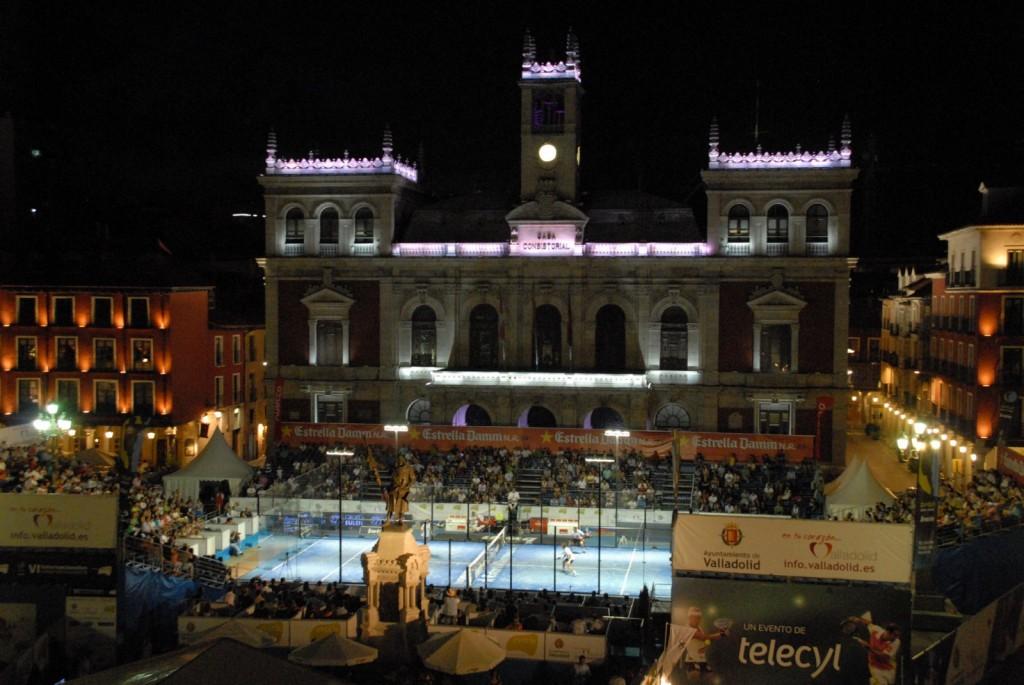 Pista en la plaza Las Gemelas Sanchez Alayeto nos relatan como fue el PPT Valladolid