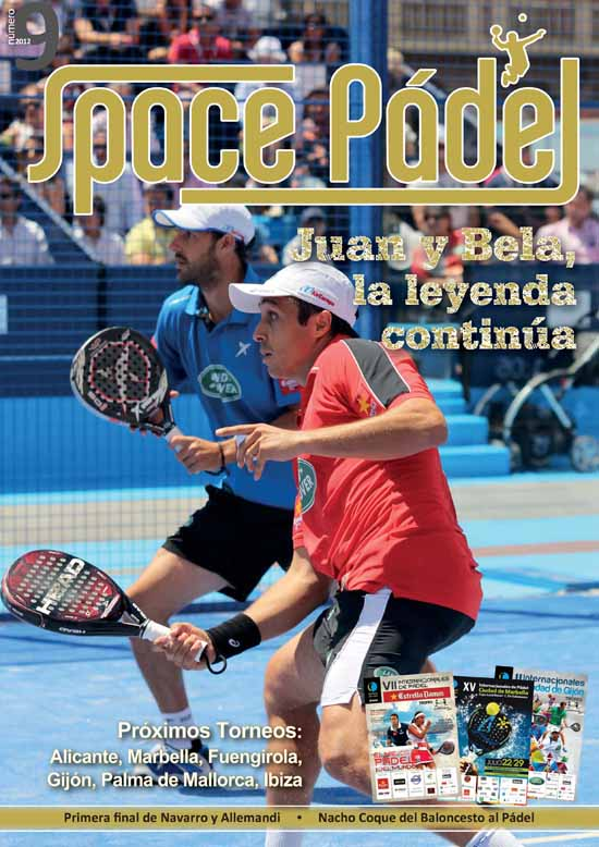 SP9 portada Número 9 de Space Pádel, ya disponible.