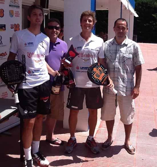 campions gr slam Roses 12 Enric Santmarti y Adrian Biglieri vencen en el Gran Slam de Roses