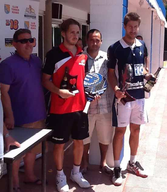sots campions gr slam Roses 12 Enric Santmarti y Adrian Biglieri vencen en el Gran Slam de Roses