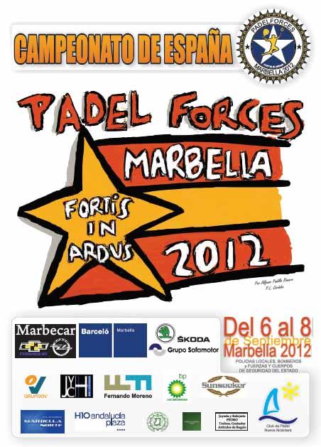 padelforces Campeonato de España Padel Forces Marbella 2012