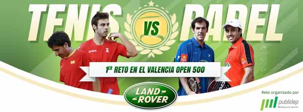 525569 397914553615413 983781896 n Primer 'Reto Tenis Vs Padel' en el Valencia Open 500