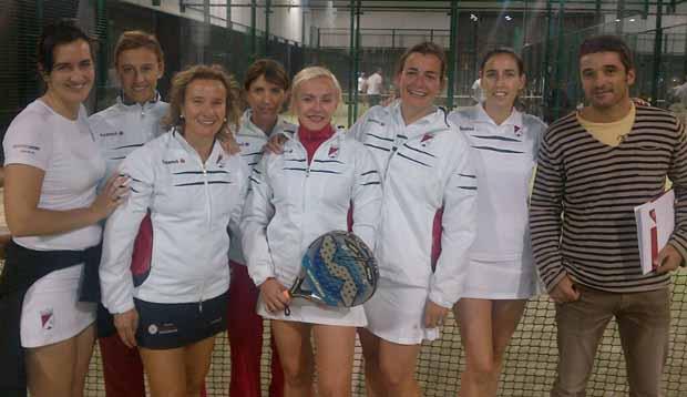 Tenis Femenino Crónica Campeonato Navarro por Equipos de Veteranos de Clubes