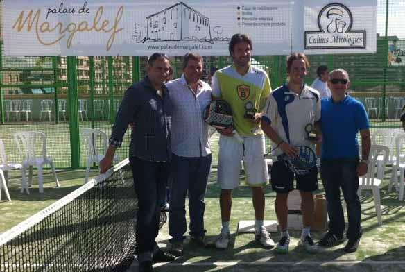 ekke3 Biglieri - Sanmartí y Marrero - Duran vencen en el Gran Slam Palau de Margalef