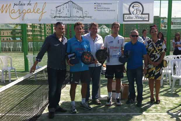 ekke4 Biglieri - Sanmartí y Marrero - Duran vencen en el Gran Slam Palau de Margalef