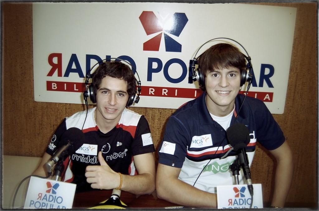 2 Entrevista de Radio Popular a Jaime Bergareche y Andoni Bardasco por Cris Garcia