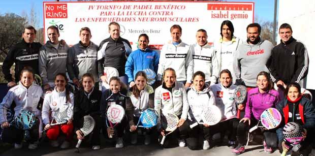IV TORNEO DE PADEL BENEFICO FIG Crónica Torneo Benefico Fundación Isabel Gemio