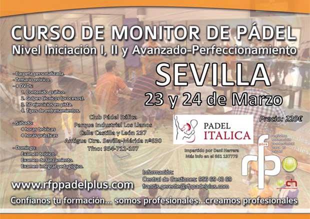 CARTEL MONITOR SEVILLA 23-24 MARZO