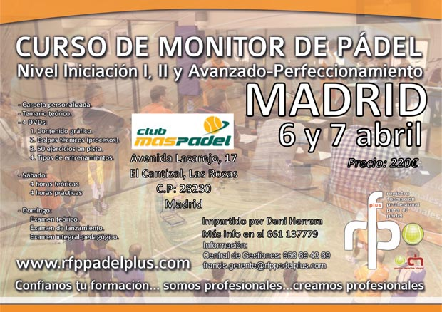 CARTEL MONITOR MADRID