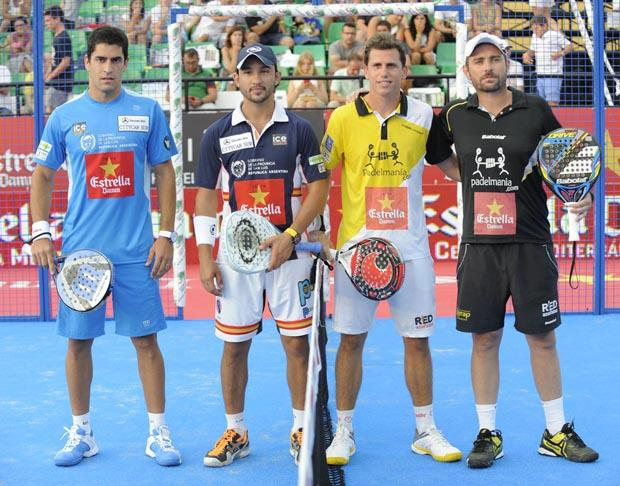 Maxi Sánchez y Daniel Sanyo Gutiérrez vs Paquito Navarro y Jordi Muñoz