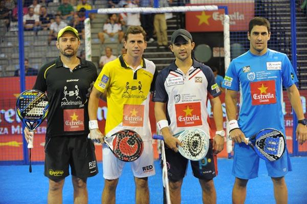 Jordi Muñoz y Paquito Navarro vs Daniel Sanyo Gutiérrez y Maxi Sánchez