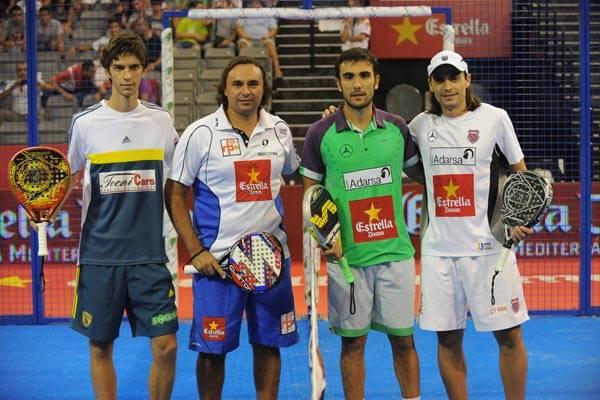 Matías Marina y Gonzalo Díaz Sangiorgio vs Pablo Lima y Juani Mieres