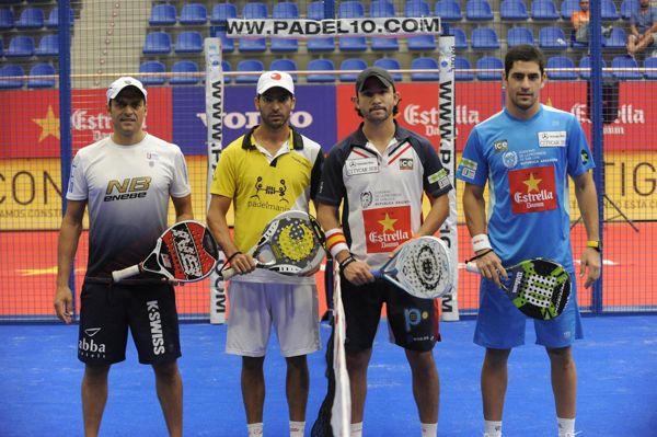 David Losada y Vicente Federico Perez Millan vs Daniel Sanyo Gutiérrez y Maxi Sánchez