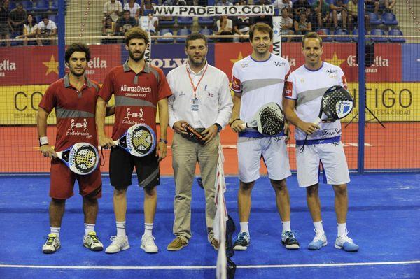 Juan Manuel Vazquez de Cian y Fabricio Cattaneo Rizzone vs Marcelo Jardim y Aday Santana