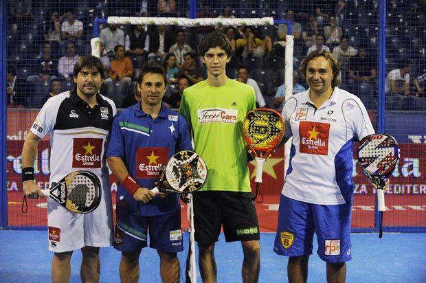 Cristian Gutiérrez y Matías Díaz vs Matías Marina y Gonzalo Godo Díaz
