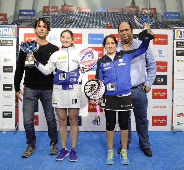 Las campeonas, Alejandra Salazar e Iciar Montes