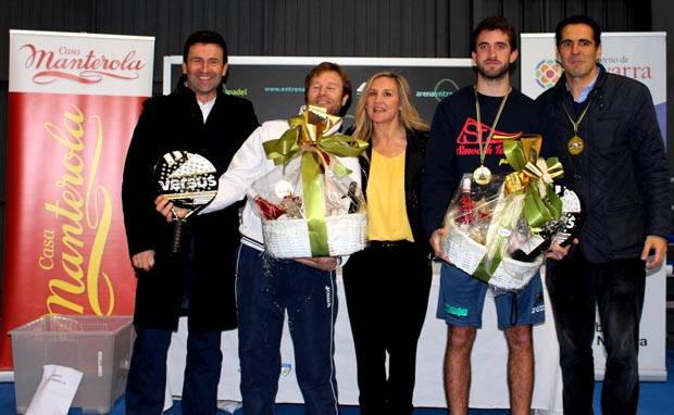 Pedro Arozarena, Marcelo Capitani, Pilar Lafuente, Jorge Diaz y Mikel Manterola