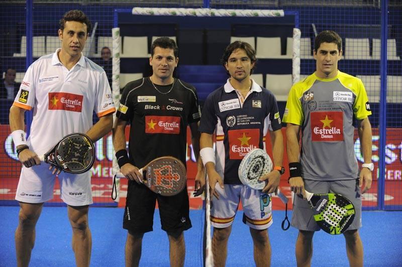 Fernando Poggi y Adrián Allemandi vs Sanyo Gutiérrez y Maxi Sánchez