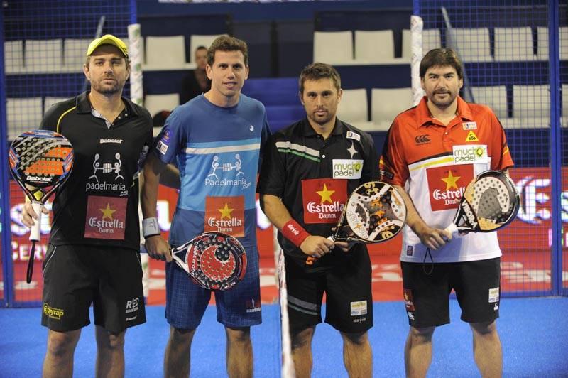 Jordi Muñoz y Paquito Navarro vs Matías Díaz y Cristian Sangirogio