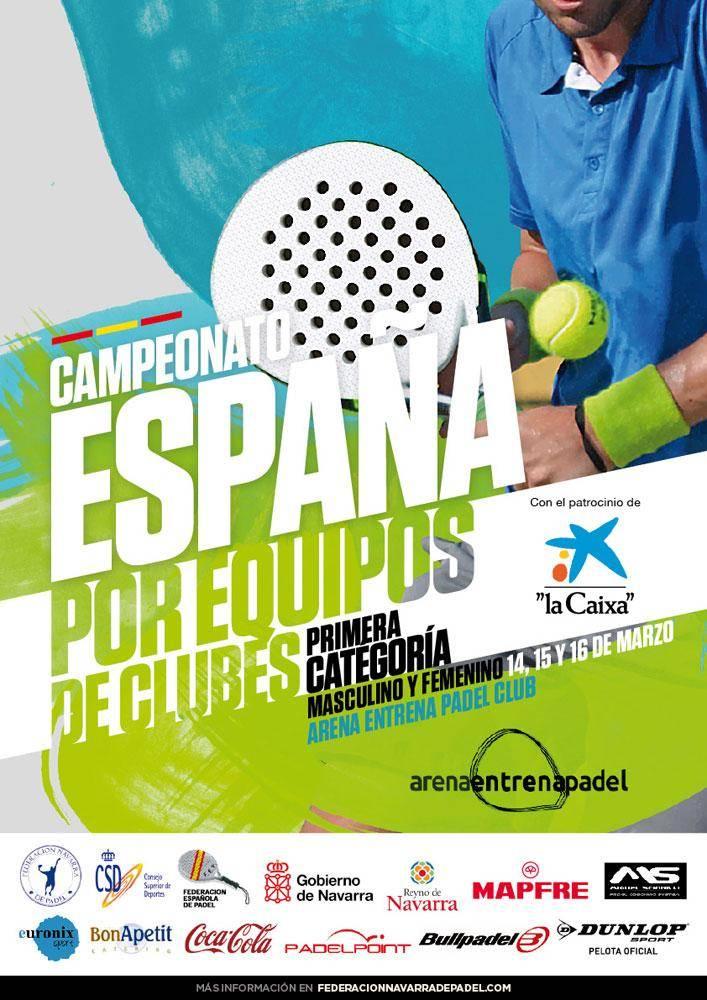 Campeonato de España por equipos padel