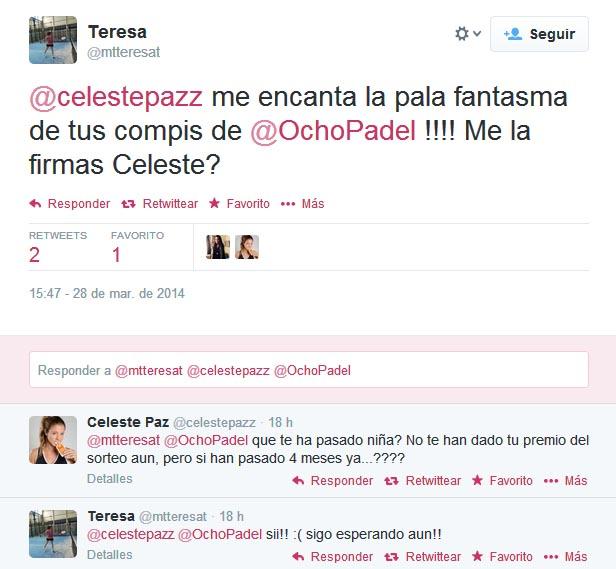 celeste ocho padel twitter 1