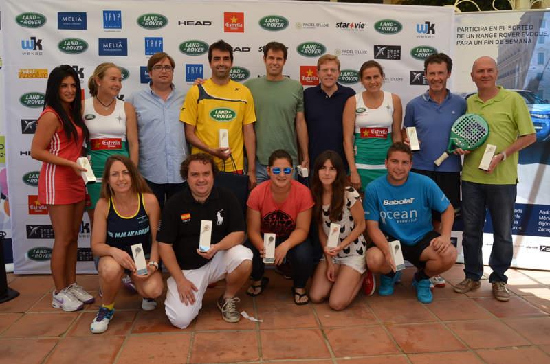 Campeones Land Rover Padel Tour Marbella